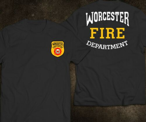 New Worcester City in Massachusetts Fire Department Fire and Rescue T-Shirt