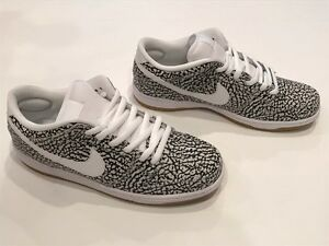 NEW MEN'S NIKE LOW PREMIUM SB SNEAKERS NWOB  313170 110  0.00