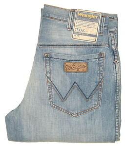 Wrangler-Texas-W-32-L-34-Jeanshose-Summer-Vintage-Hellblau-W121EY15V-1-Wahl