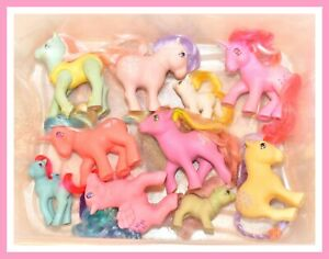 My-Little-Pony-MLP-G1-Vintage-Custom-Bait-TLC-Variety-Mixed-Lot-of-10-Ponies