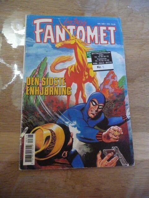 Fantomet nr 326, Tegneserie