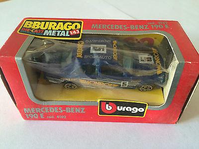 BBURAGO BURAGO BMW 535I COD 4178 YEARS 1983 SCALE 1//43 IN BOX