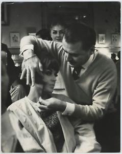 Mode-coifure-Vintage-Tirage-argentique-23x29-Circa-1964
