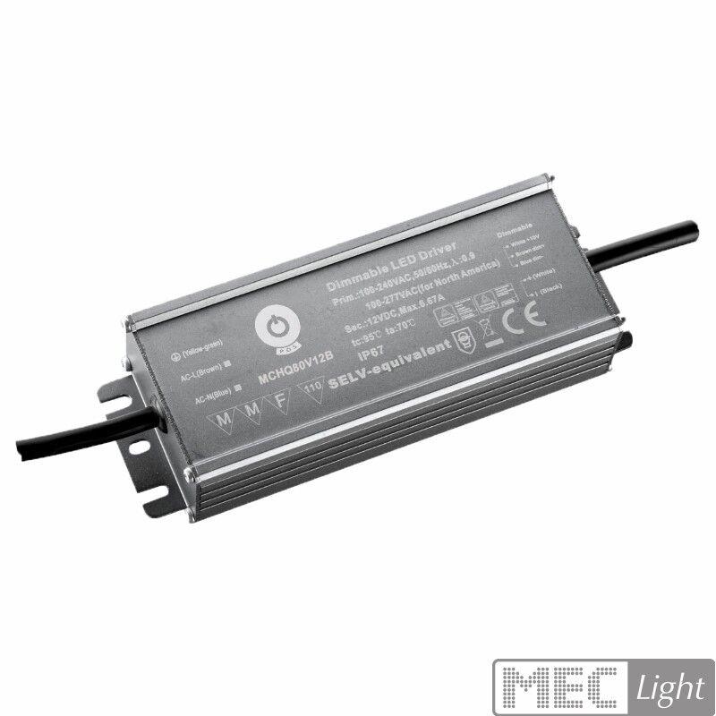 LED Trafo Netzteil dimmbar mit PFC 12V 216W - 18A wasserfest (MCHQ250V12B) MM