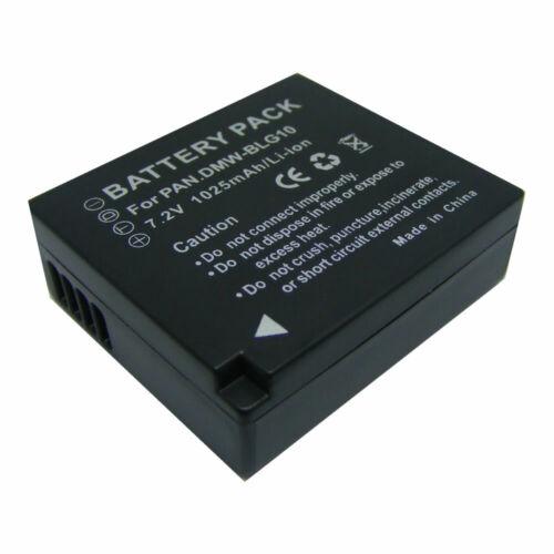 Batteries DMW-BLG10 Battery For Panasonic DMC-TZ80/DMC-TZ100/DMC ...
