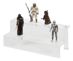 GW-Acrylic-2-Tier-Display-Steps-Riser-ADS-001-Action-Star-Wars-GI-Joe