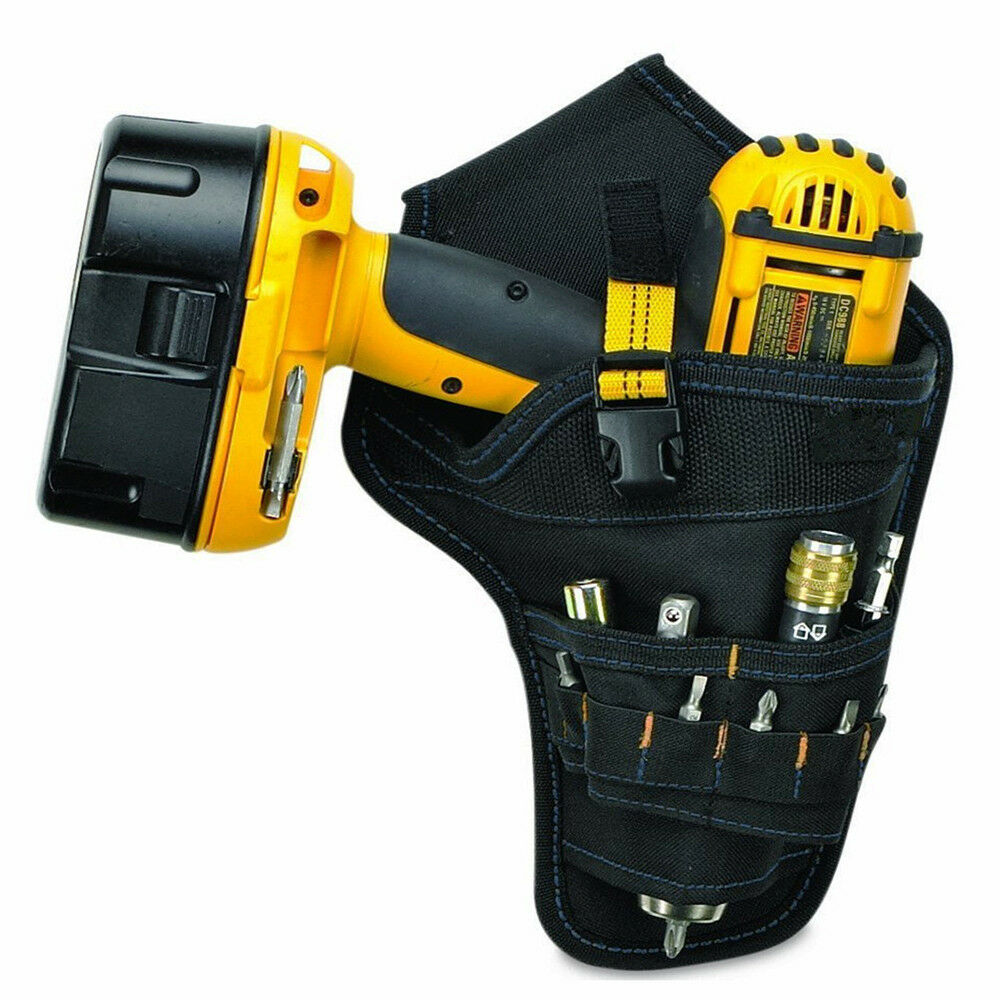 Cordless Power Tool Waist Belt Bag for Electric Drill Wrench