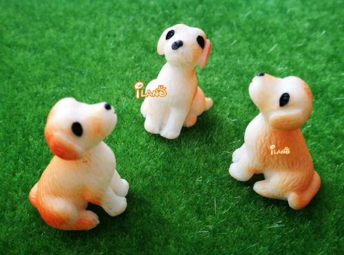Dollhouse Miniature Pet Dog Set 3pcs  HO035
