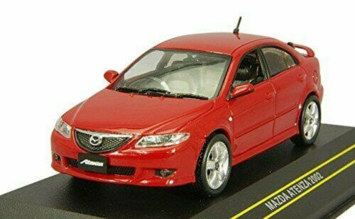 FIRST 43 1//43 Mazda Atenza 2002 Red Diecast Car F43-026 4895102320936