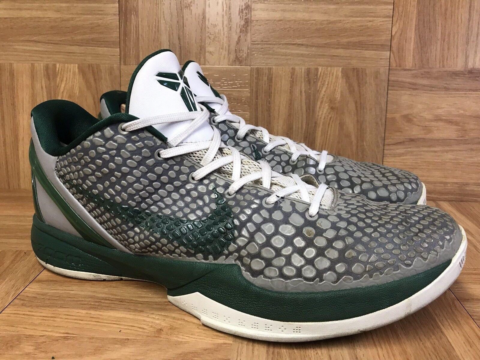 RARE  Nike Zoom Kobe VI 6 Wolf Fray Gorge Green Celtics Gradient 13 429659-009
