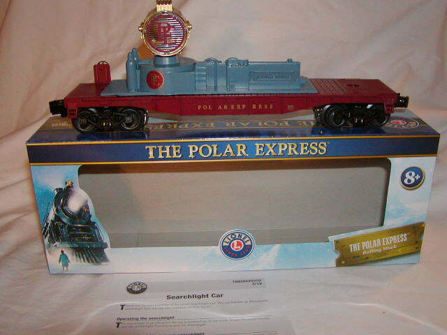 Lionel 1928420 il Polar Express illuminato PROIETTORE auto o 027 NUOVI 2019 Nuovo di zecca con scatola