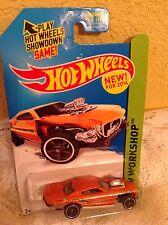 HOT WHEELS CAR 2014 PROJECT SPEEDER HW WORKSHOP HW GARAGE