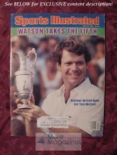 SPORTS Illustrated July 25 1983 TOM WATSON Anthony Carter Billy Cannon