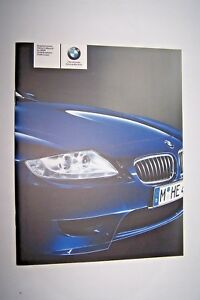 bmw z4 m roadster m coupe owners manual supplement new original e85 rh ebay com 2006 bmw z4 m coupe owners manual BMW Z4 Coupe Convertible