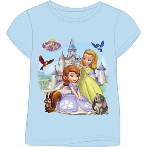 Size 18 Months to 5 Years Disney Princess T-Shirt New Girls Sofia The First