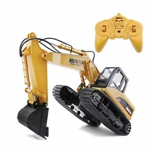 Die-Cast-RC-Excavator-1-14-2-4GHz-15-Channel-Remote-Control-Digger-Truck-Toy