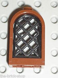 LEGO HARRY POTTER OldBrown Rounded window 30044 /set 4709 Hogwarts Castle