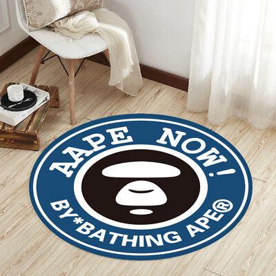 Round Home Decor Non-slip Bath Bedroom Door Mat Rug carpet Floor Mat BATHING APE