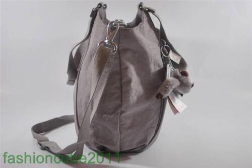 New With Tag Kipling GWENDOLYN Tote Shoulder Handbag-Gull