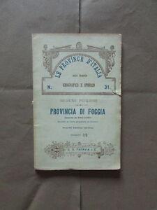 Province-Italia-Foggia-Puglia-Corti-Paravia-1912-Geografia-Storia-Usanze