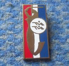GWARDIA WARSZAWA SHOOTING SPORTS SECTION 1980's ENAMEL PIN BADGE