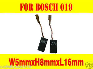 Carbon Brushes For Bosch GWS9-125C Grinder 5X8X18mm GWS6-100//GWS6-115 7-115 BS3