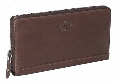 Genossenschaft The Chesterfield Brand Nova Zip Around Wallet Geldbörse Brown Braun Neu Ein Unverzichtbares SouveräNes Heilmittel FüR Zuhause