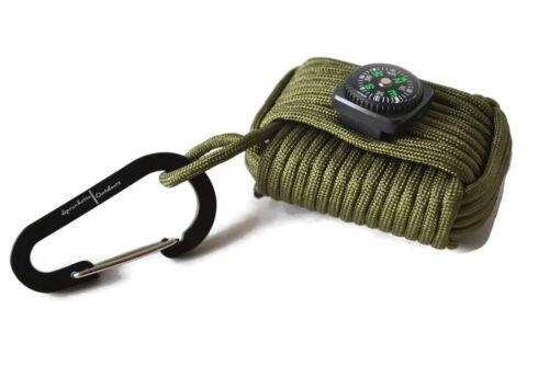 Paracord grenade kit de survie avec 10 survie outils par spronketts outdoors