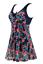 thumbnail 74 - Wantdo Women One Piece Swimdress Plus Size Bathing Suit Tankini Swimsuit Coverup