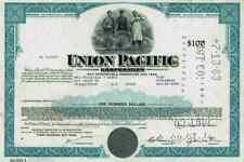 UNION PACIFIC 1969 Omaha Nebraska Chicago New Orleans Kansas 100 Dollar Railroad