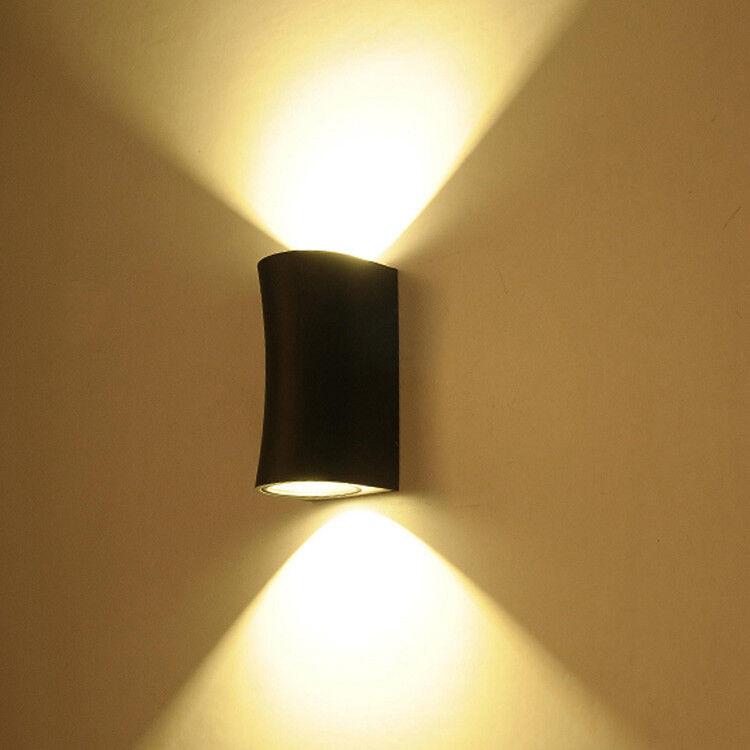 Up Abajo 10 W COB LED de Lámpara de Parojo Lámpara Lámpara al Aire Libre Impermeable IP54 puerta