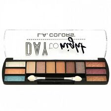L.A. Colors Makeup Long Lasting Day to Night Eyeshadow Palette CES425 Sunset