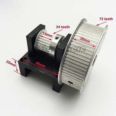 XL(3:1) Timing Belt Stepper Motor Pulley Teeth (24:72) DIY Laser Engraver Cutter