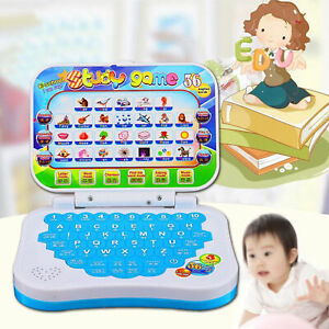 Baby-Kids-Pre-School-Educational-Learning-Study-Toy-Laptop-Computer-Game-Toys