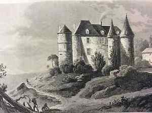 Castle-of-Bannes-First-half-Xixth-Dordogne