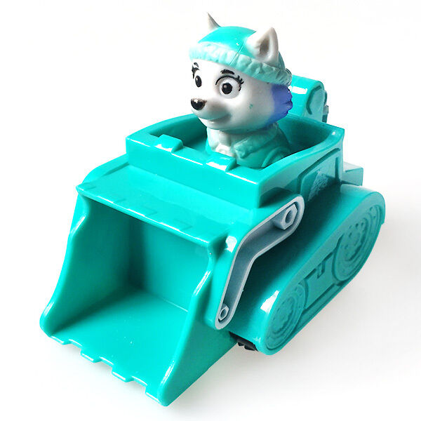 Hot PAW PATROL RESCUE Racers Pups Dog Vehicle Car Action Figure Toy -- Everest