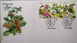 Malaysia FDC with Stamps (09.07.2020) - Wild Flowers Series III