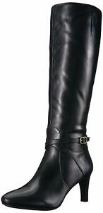 Lauren by Ralph Lauren Womens Elberta Faux Fur Pointed Toe, Black, Size 6.5 iAo8