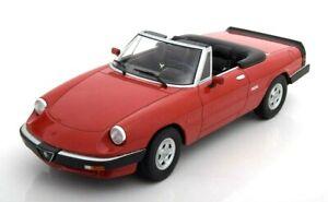 Model Car Alfa Romeo Spyder III 3 Kk Scale 1/18 diecast vehicles road