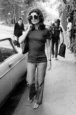 8x10 Print John F Kennedy Jr Jackie Kennedy in Foreground Paris 1973 #JK12