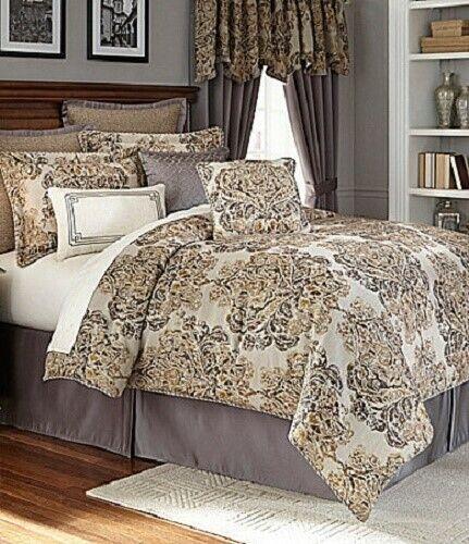 Veratex Devonshire 7P King comforter Set