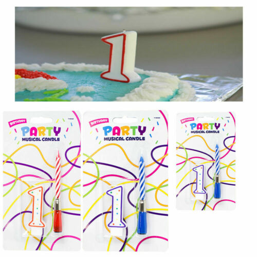 Birthday Candles with MUSICAL FIGURES CANDLE 0-9 CAKE CANDLES LETTERS Candles