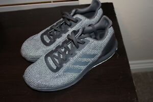 Details about Men's Adidas Cosmic 2 Gray Textile Cloudfoam Ortholite Running Shoes Size 11