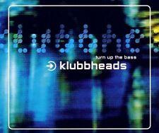 Klubbheads Turn up the bass (5 tracks, 2000) [Maxi-CD]