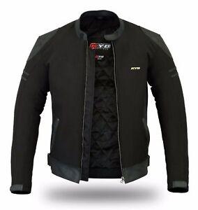 KYB-Windproof-Waterproof-Softshell-Leather-Armours-Motorbike-Motorcycle-JACKET