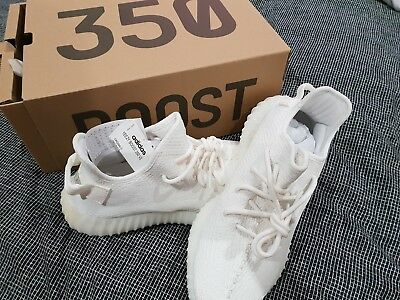 LIMITED EDITION: Adidas Yeezy Boost 350 V2 Size UK 8US 8.5 Triple White eBay  eBay