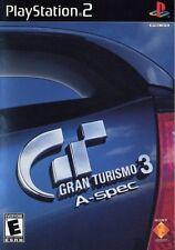 SONY PlayStation 2 PS2 Gran Turismo 3 A-spec (BLACK LABEL VERSION & COMPLETE)