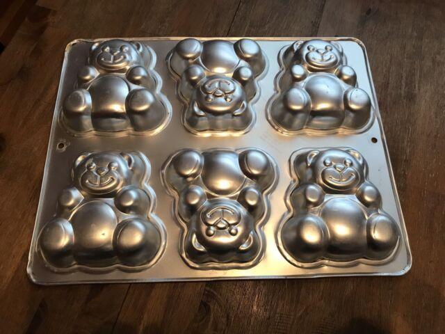 Wilton Mini Bears Cake Pan   eBay