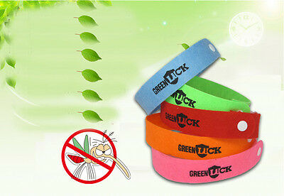 5x 10x lot Anti Mosquito Insect Repellent Wristband Bracelet Natural Non Toxic