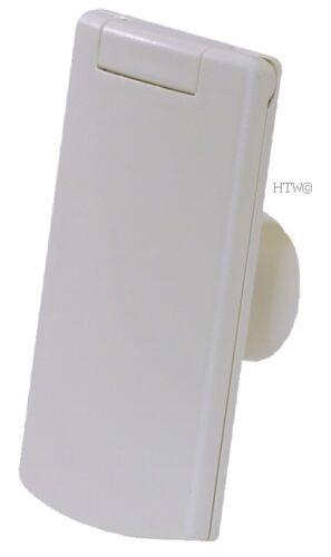 Saugdose R-VEX rechteckig 8 x 12 cm von PLASTIFLEX für Zentralstaubsauger